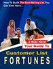 Thumbnail Customer List Fortunes-Make Money With Email Marketing